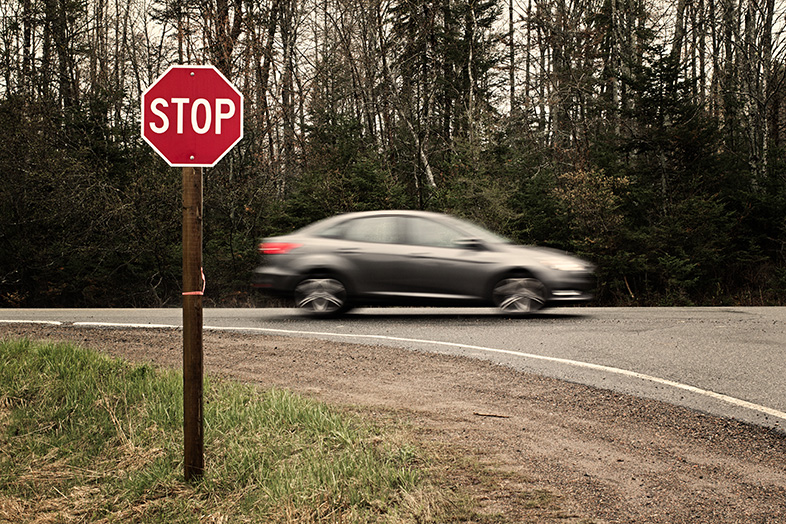 Stop signs and rural roads are major factors in many fatal accidents