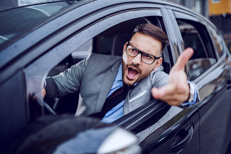 When Does Reckless Driving Boil Over Into Road Rage